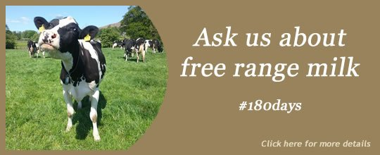 Free Range Dairy | Slide - Ask us about free range