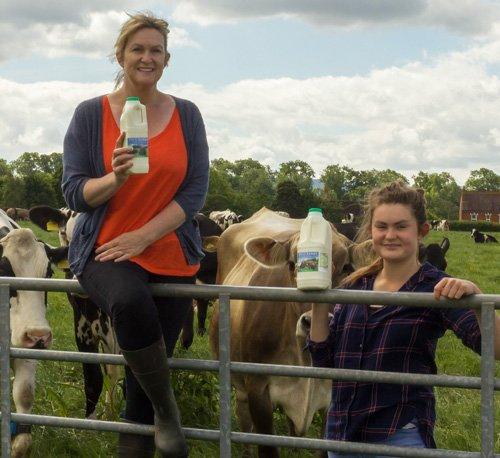 Free Range Dairy | Jenni Hobbs by Gate