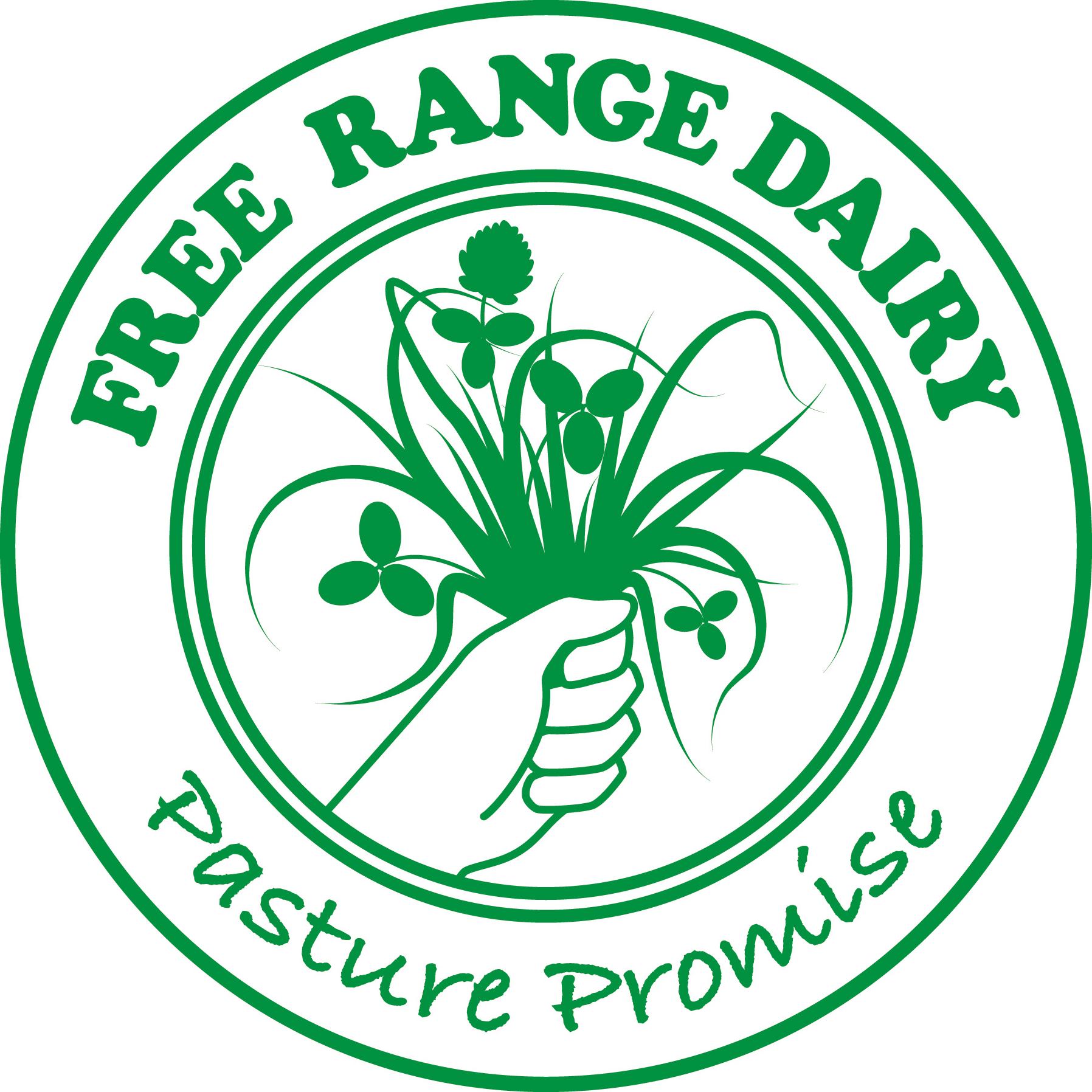 Free Range Dairy | Pasture Promise Logo (Round)