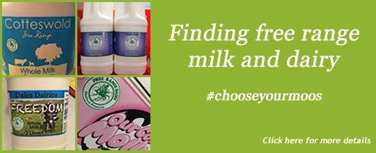 Free Range Dairy | Finding Free Range Slide