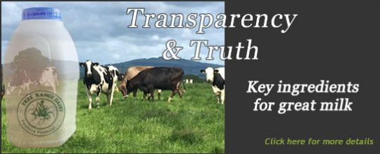 Free Range Dairy | Transparency and Truth Slide