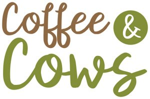 Free Range Dairy | Coffee & Cows Campaign Logo
