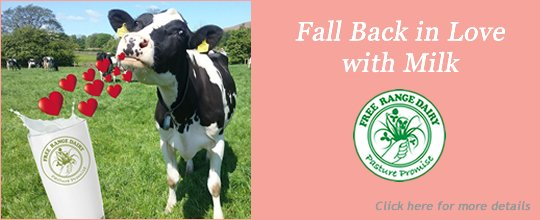 Free Range Dairy | Fall back in love with milk slide
